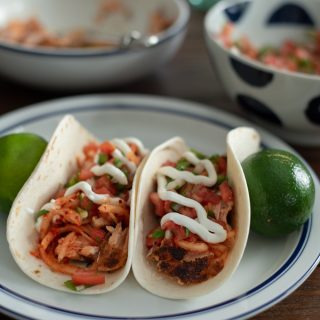 Salmon Korean Radish Taco