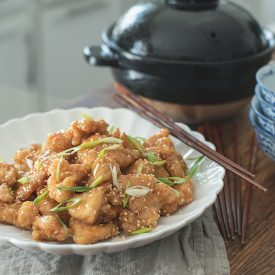 Crispy Chinese Lemon Chicken