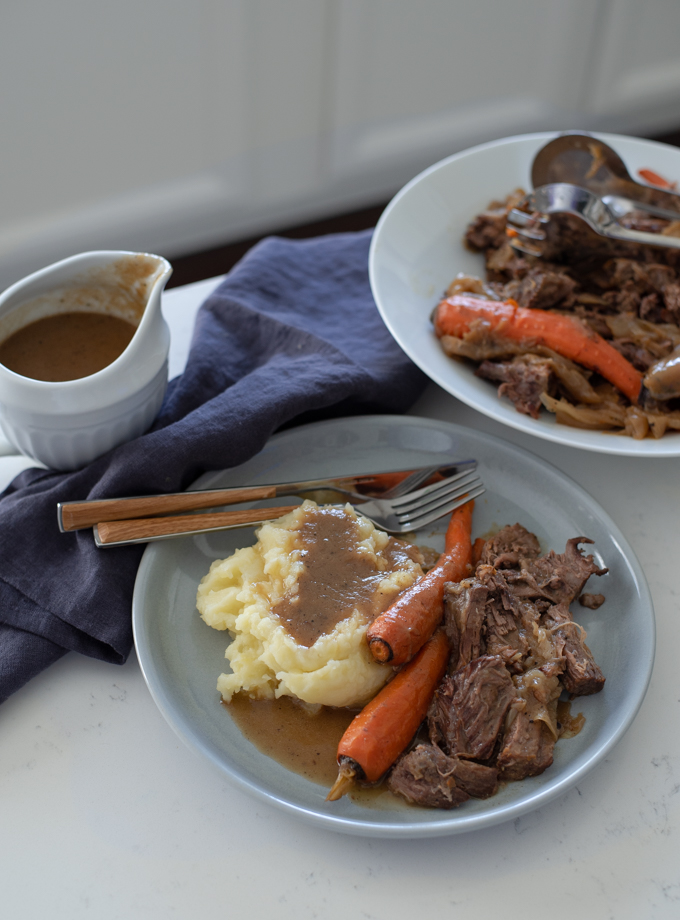 The Simplest Beef Pot Roast