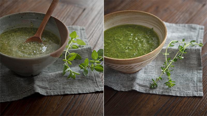 Oregano Pesto & Thyme Pesto