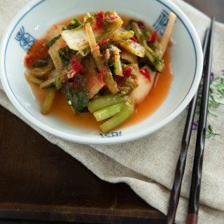 Summer Kimchi & A Secret For The Best Tasting Kimchi