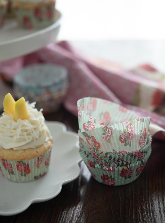 Mango Coconut Cupcakes