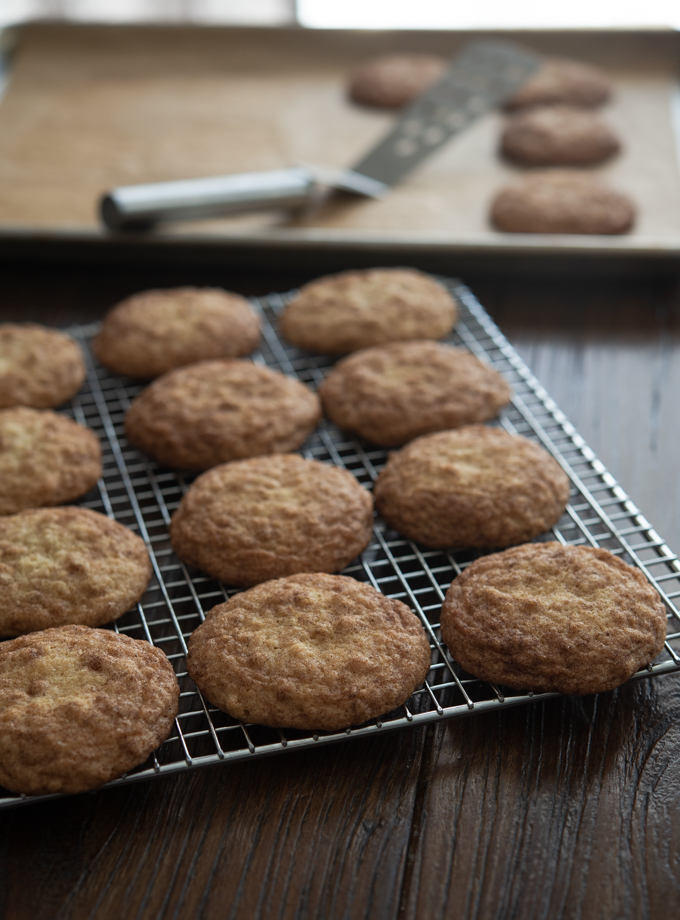 Oatmeal Snickerdoodles
