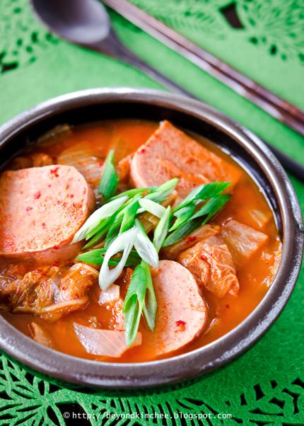 Easy Kimchi Stew