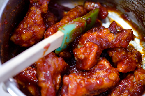 Spicy Korean Fried Chicken