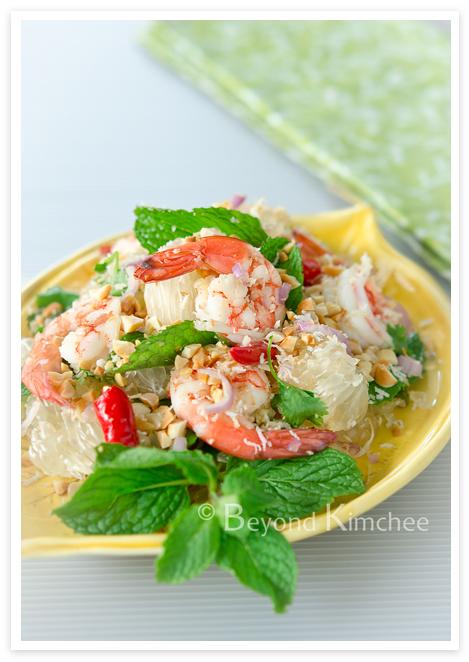 Pomelo Prawn Salad