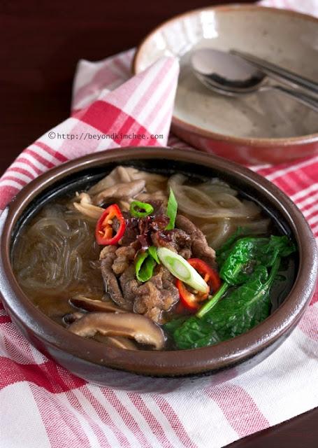 Korean Beef Hotpot