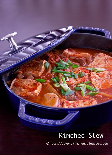 kimchi jjigae (kimchi stew)